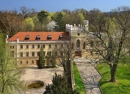 ubytování na zámku v Praze