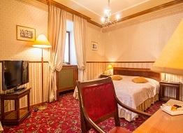 romantický zámecký hotel v praze