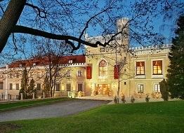 zámecký pobyt v Praze