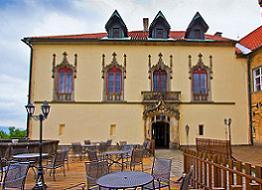 romantický víkend na zámku